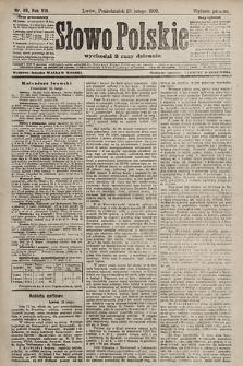 Słowo Polskie (wydanie poranne). 1903, nr89