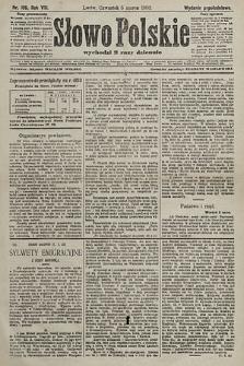 Słowo Polskie (wydanie popołudniowe). 1903, nr106