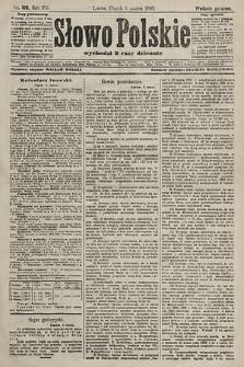 Słowo Polskie (wydanie poranne). 1903, nr109