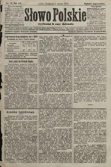 Słowo Polskie (wydanie popołudniowe). 1903, nr112