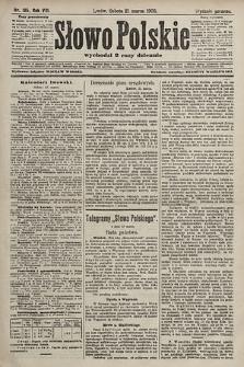 Słowo Polskie (wydanie poranne). 1903, nr135