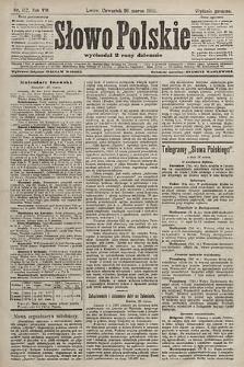 Słowo Polskie (wydanie popołudniowe). 1903, nr142
