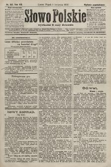 Słowo Polskie (wydanie popołudniowe). 1903, nr155
