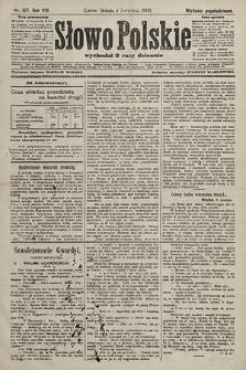 Słowo Polskie (wydanie popołudniowe). 1903, nr157
