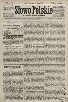 Słowo Polskie (wydanie popołudniowe). 1903, nr163