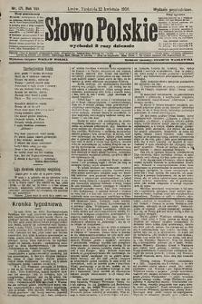 Słowo Polskie (wydanie popołudniowe). 1903, nr171