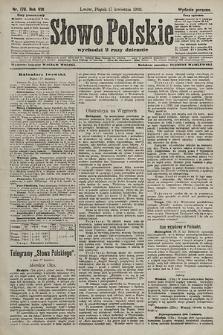 Słowo Polskie (wydanie poranne). 1903, nr178