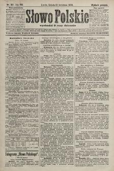 Słowo Polskie (wydanie poranne). 1903, nr180