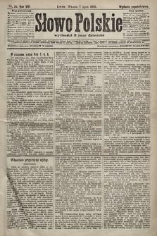 Słowo Polskie (wydanie popołudniowe). 1903, nr311