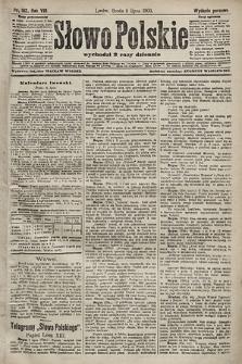 Słowo Polskie (wydanie poranne). 1903, nr312