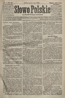 Słowo Polskie (wydanie popołudniowe). 1903, nr313