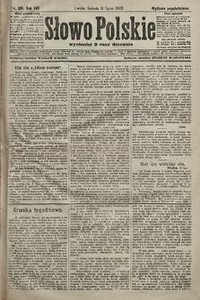 Słowo Polskie (wydanie popołudniowe). 1903, nr319