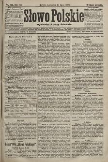 Słowo Polskie (wydanie poranne). 1903, nr326