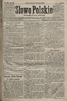 Słowo Polskie (wydanie poranne). 1903, nr339