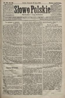Słowo Polskie (wydanie popołudniowe). 1903, nr340