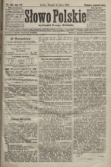 Słowo Polskie (wydanie popołudniowe). 1903, nr348