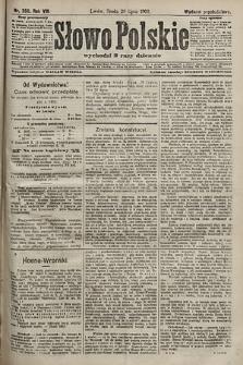 Słowo Polskie (wydanie popołudniowe). 1903, nr350