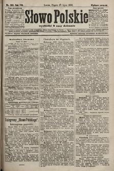 Słowo Polskie (wydanie poranne). 1903, nr353