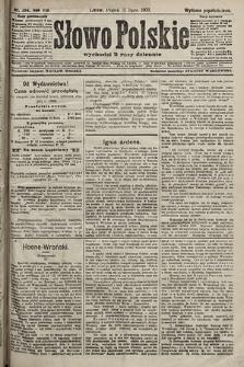 Słowo Polskie (wydanie popołudniowe). 1903, nr354