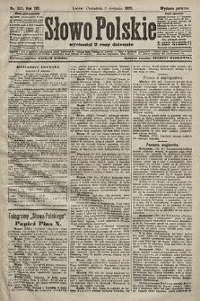 Słowo Polskie (wydanie poranne). 1903, nr363