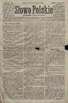 Słowo Polskie (wydanie popołudniowe). 1903, nr364