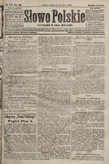 Słowo Polskie (wydanie poranne). 1903, nr373