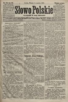 Słowo Polskie (wydanie poranne). 1903, nr406