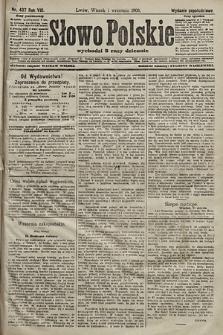 Słowo Polskie (wydanie popołudniowe). 1903, nr407