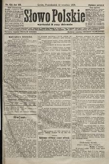 Słowo Polskie (wydanie poranne). 1903, nr439