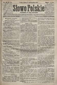 Słowo Polskie (wydanie poranne). 1903, nr484