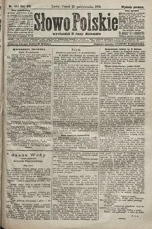 Słowo Polskie (wydanie poranne). 1903, nr494