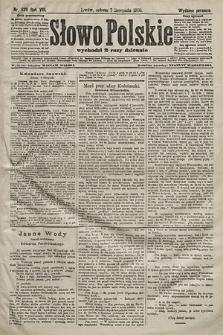 Słowo Polskie (wydanie poranne). 1903, nr520
