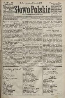 Słowo Polskie (wydanie popołudniowe). 1903, nr523