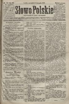 Słowo Polskie (wydanie poranne). 1903, nr540