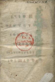 Tropi carminum : Liber hymnorum