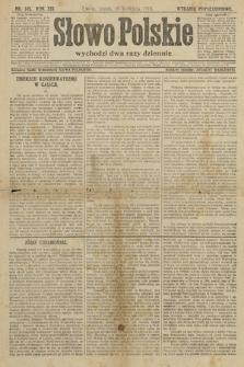 Słowo Polskie (wydanie popołudniowe). 1914, nr145