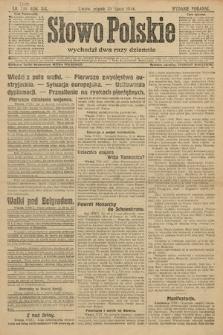 Słowo Polskie (wydanie poranne). 1914, nr330