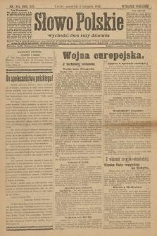 Słowo Polskie (wydanie poranne). 1914, nr341