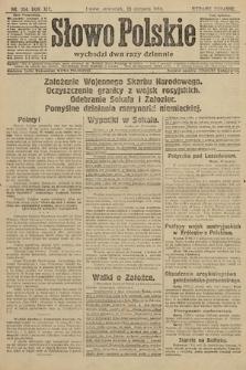 Słowo Polskie (wydanie poranne). 1914, nr354