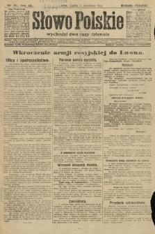 Słowo Polskie (wydanie poranne). 1914, nr393