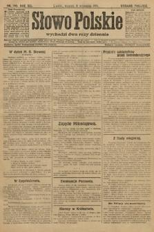 Słowo Polskie (wydanie poranne). 1914, nr399