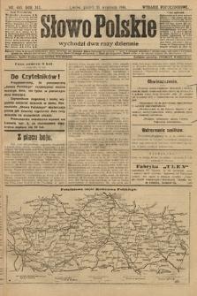Słowo Polskie (wydanie popołudniowe). 1914, nr405