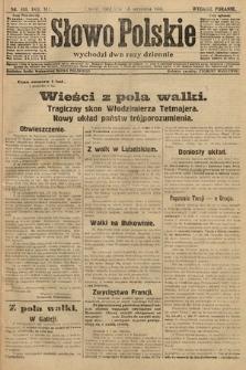 Słowo Polskie (wydanie poranne). 1914, nr408