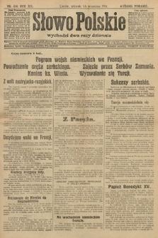 Słowo Polskie (wydanie poranne). 1914, nr410