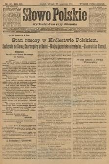 Słowo Polskie (wydanie popołudniowe). 1914, nr411