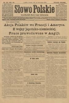 Słowo Polskie (wydanie poranne). 1914, nr424