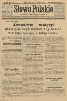 Słowo Polskie (wydanie popołudniowe). 1914, nr429