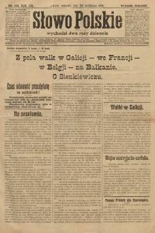 Słowo Polskie (wydanie poranne). 1914, nr434