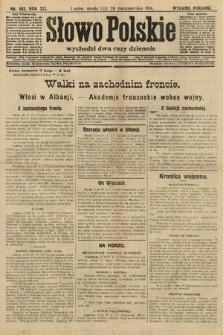Słowo Polskie (wydanie poranne). 1914, nr483