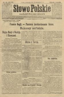 Słowo Polskie (wydanie poranne). 1914, nr521